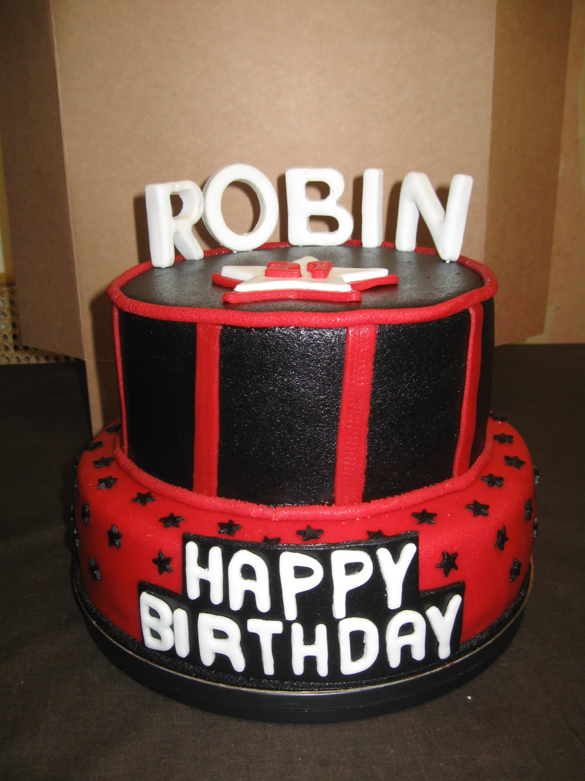 robin is jarig mama's stekkie: Robin is jarig robin is jarig
