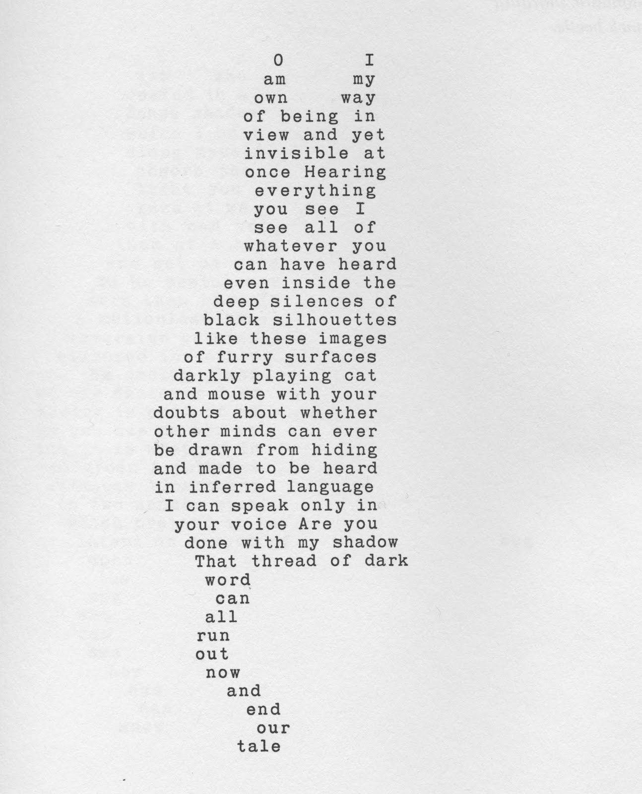 Attempts: John Hollander's Shaped Poems (Accidental Poetry