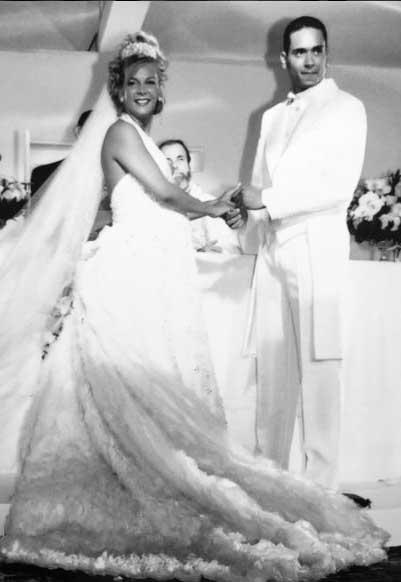 Vestido de noiva Ronaldo Esper, Carla Perez