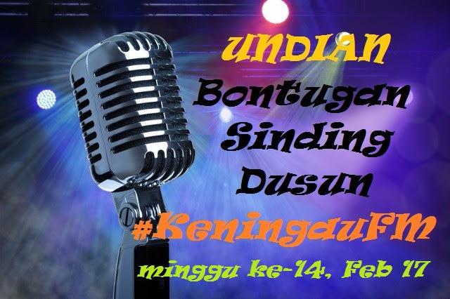 Undian Bontugon Sinding Keningau FM Minggu Ke-14
