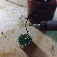 Soldering the negative wire