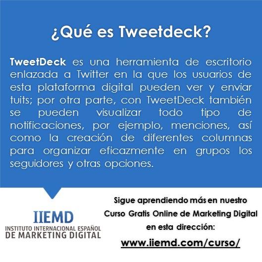 Que es TweetDeck
