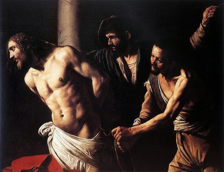 Flagelação de Cristo - Caravaggio e suas principais pinturas ~ O gênio rebelde