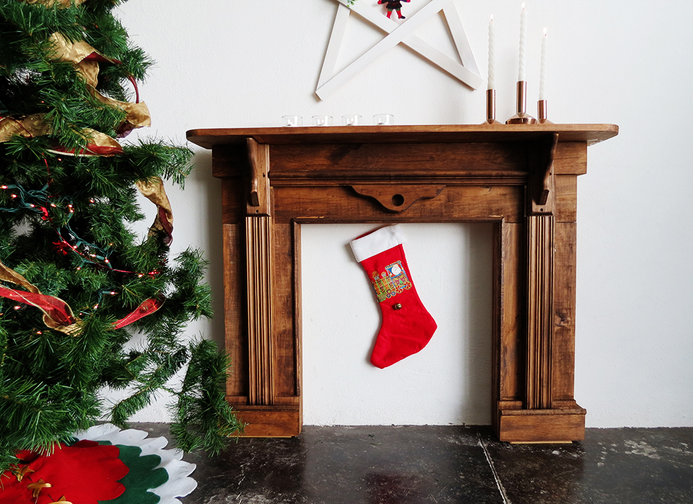 Diy Faux Fireplace Ohoh Deco