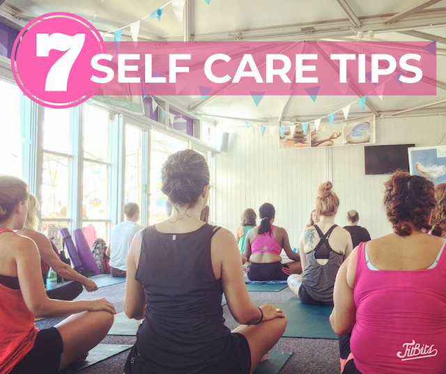 FitBits | 7 self care tips  - Tess Agnew fitness blogger