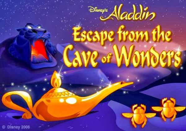 Play Aladdin Escape From The Cave Of Wonders