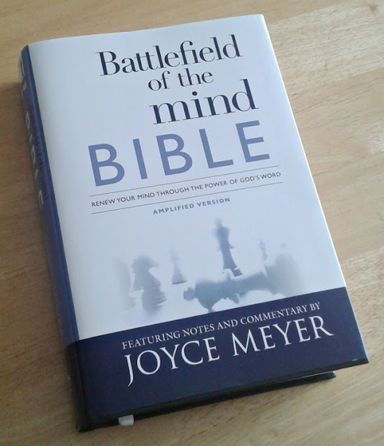 Joyce Meyer Battlefield of the Mind Bible