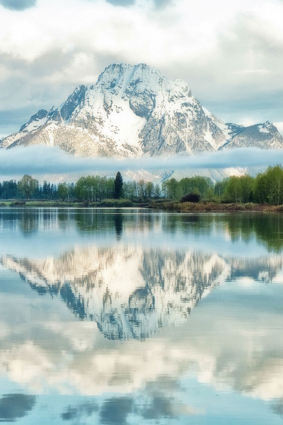 Dreams of Oxbow, Grand Teton National Park, Wyoming