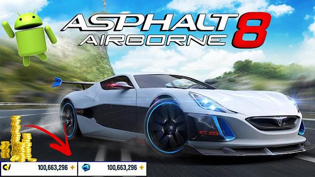 تحميل Asphalt 8 Airborne للحصول على الروبوت