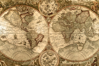Old World Map - The one you see all the time