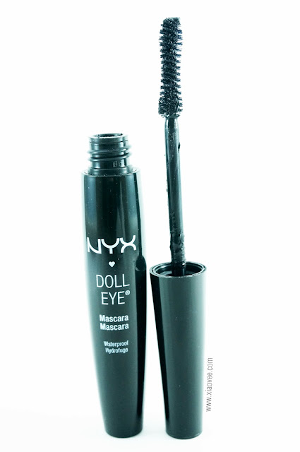 NYX Doll Eye Waterproof Mascara Review, NYX mascara review, NYX waterproof mascara review
