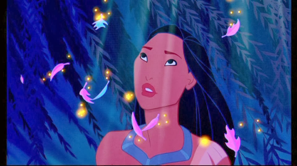 Pocahontas Disney movie animatedfilmreviews.filminspector.com