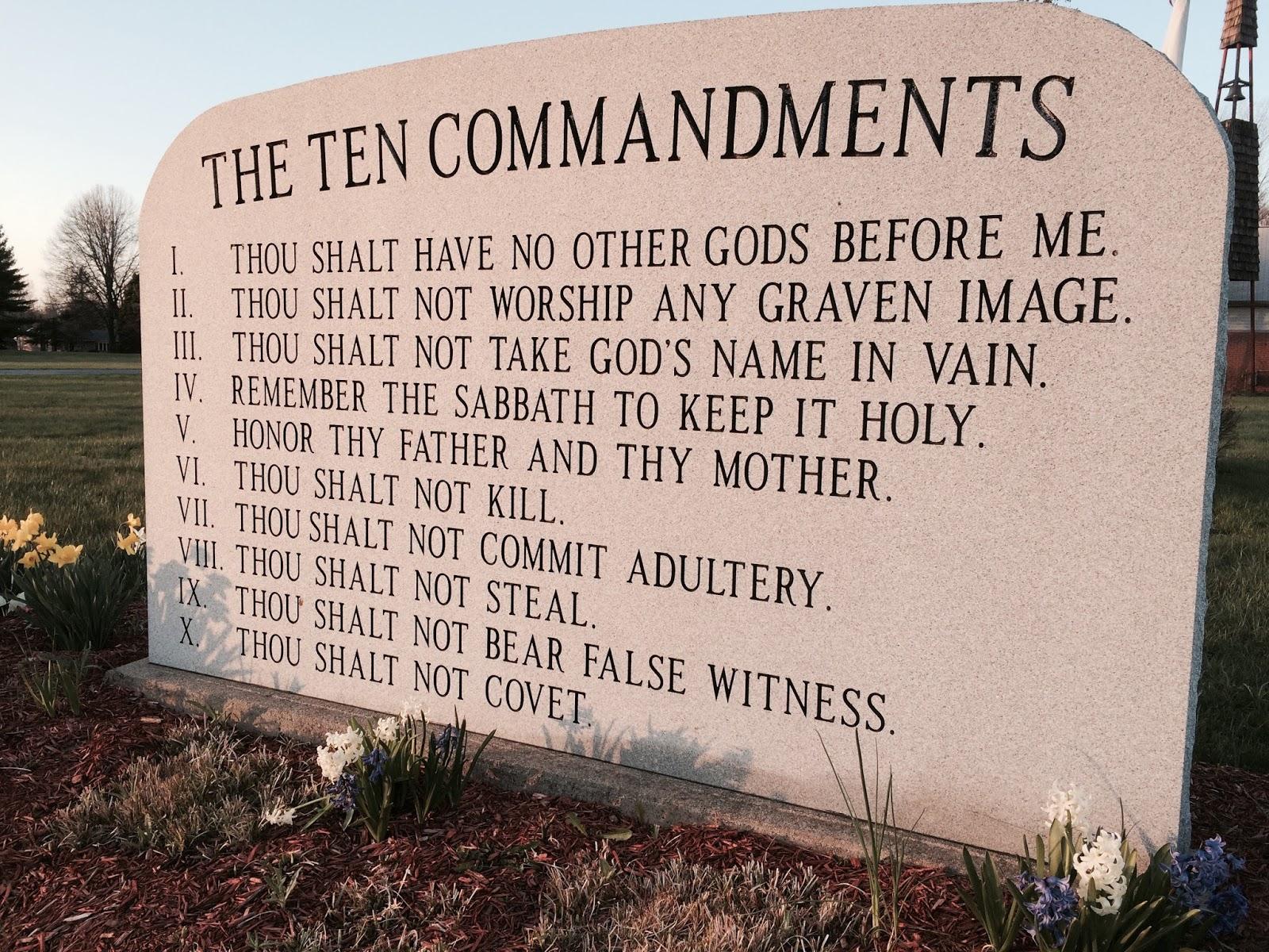 Steven L Anderson Catholics Butcher The 10 Commandments