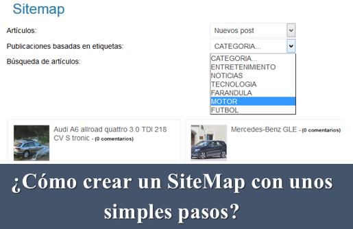 ¿Cómo crear un Sitemap con unos simples pasos?