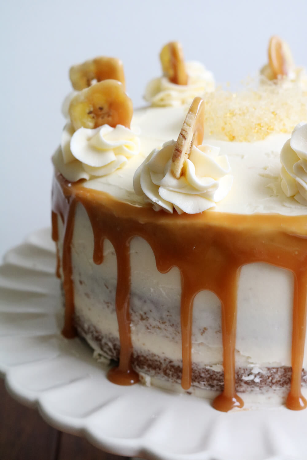 Caramel Banana Cake | Bake Off Bake Along | Hungry Little Bear