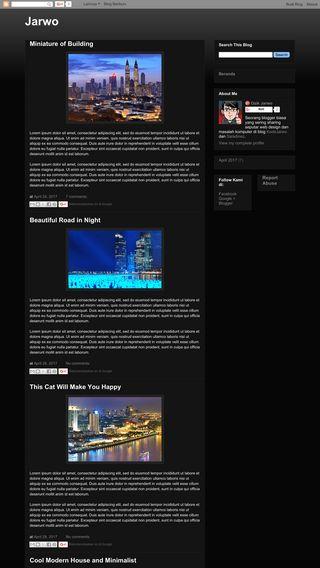 Cara Membuat Tampilan Blog Menjadi Seperti Website yang Profesional