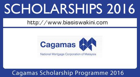 Cagamas Scholarship Programme 2016