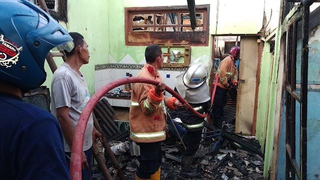 Kebakaran Rumah di Desa Cipetir, Kerugian Capai Rp 90 Juta
