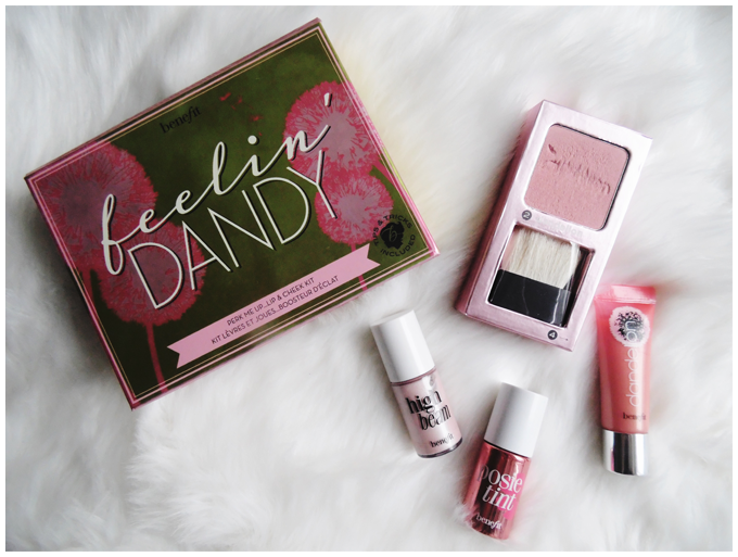 beauty | spring look | benefit feelin' dandy lip & cheek kit | more details on my blog http://junegold.blogspot.de | life & style diary from hamburg | #beauty #look #makeup #springlook #benefit #feelindandy