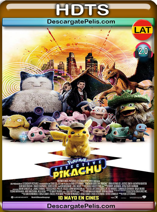 Pokémon: Detective Pikachu (2019) CAM-TS Latino