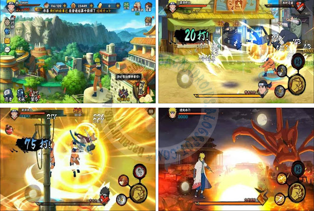 Naruto Mobile Fighter Apk Mod Terbaru