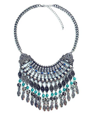 20 big bold bohemian necklaces under $20 {bohemian jewelry}