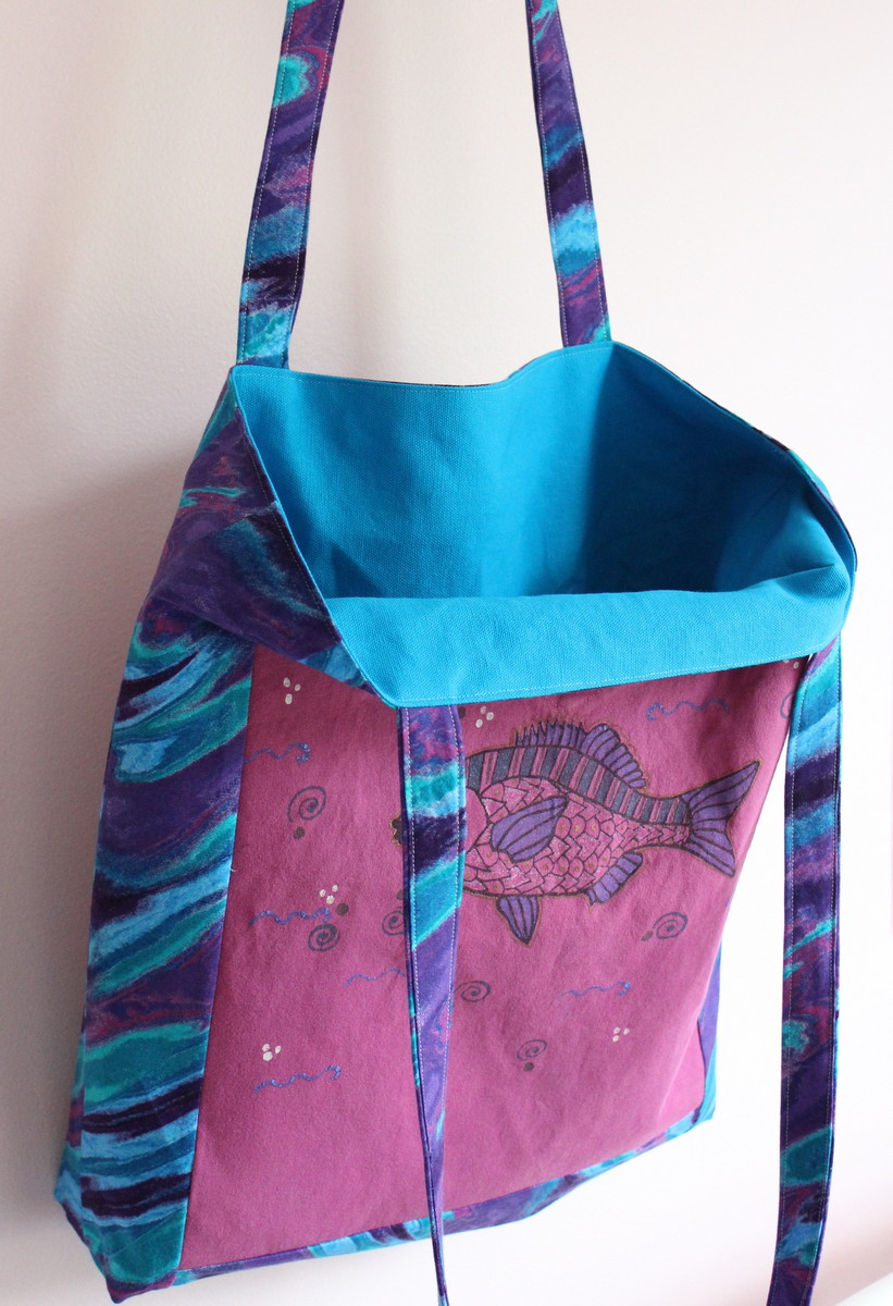 T Shirt Tote Tutorial | Maiden Jane