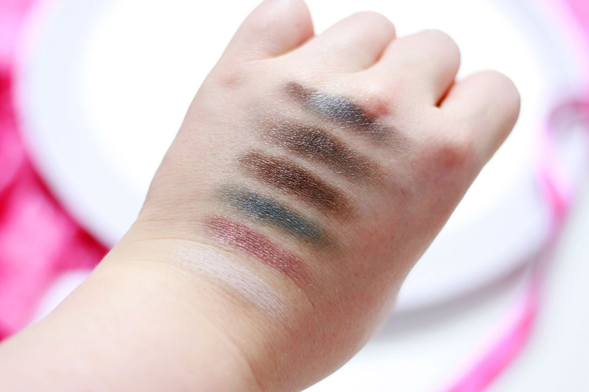 Live Love London Makeup eyeshadow swatches