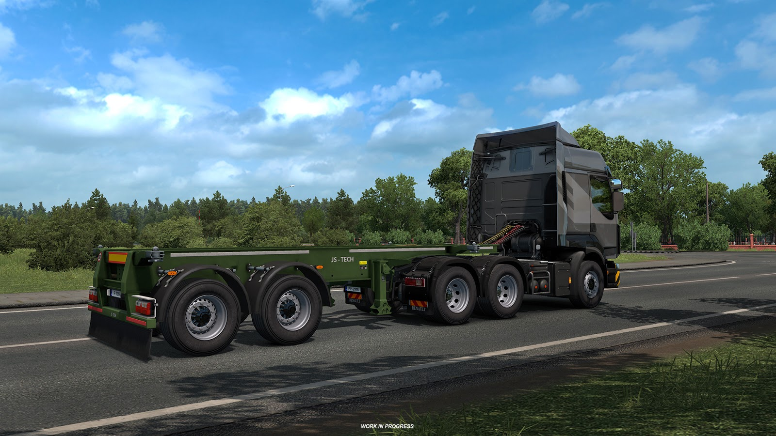 SCS Software's blog: Trailer News Part 2: Euro Truck Simulator 2