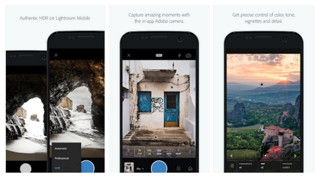 Download Adobe Photoshop Lightroom photo editing app for Android