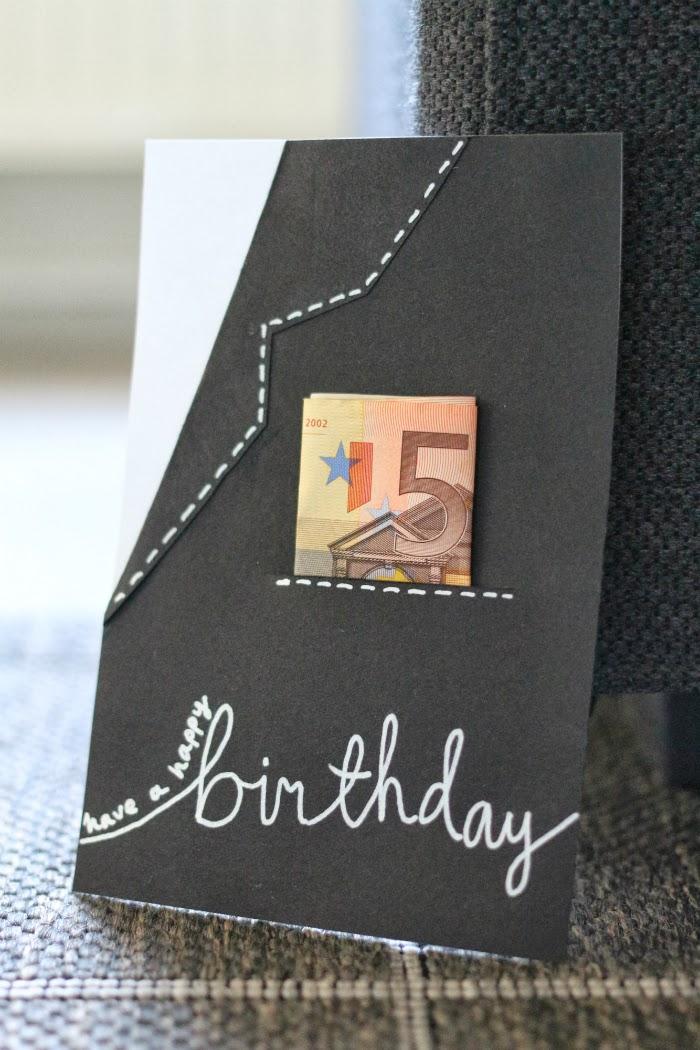 Syntymäpäiväkortti Miehelle