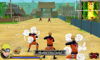 Kumpulan Game Naruto Shippuden PSP ISO for Android 2017
