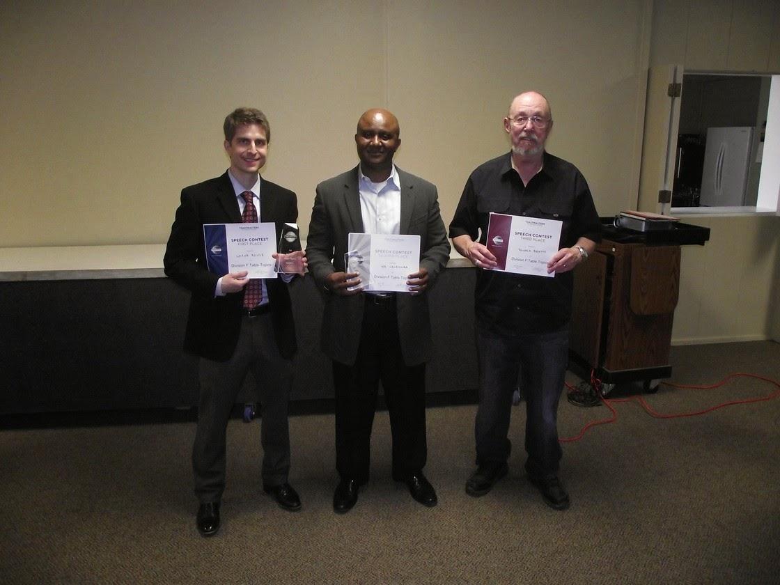 Toastmasters In Lubbock: 2014