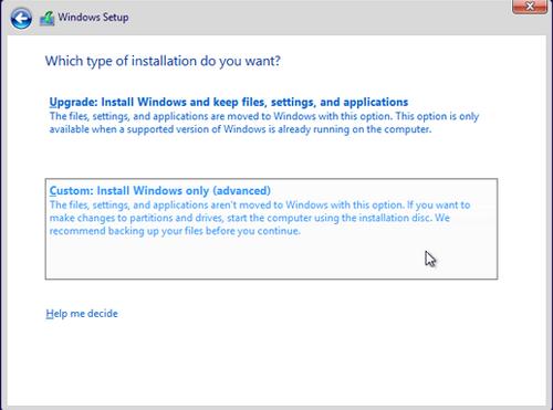 Cara membuat partisi windows saat proeses installasi 2