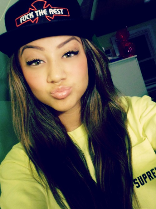 Pretty Girls With Swag And Snapbacks Tumblr