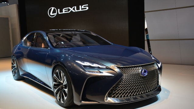 Showcased At The Tokyo Motor Show 2015, Lexus LF-LC Concept Previewed  Next Generation LS And Provided An Insight Into Future Model\u0027s Interior.
