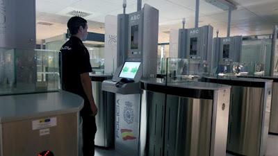 Control de accesos biométricos en los aeropuertos AENA