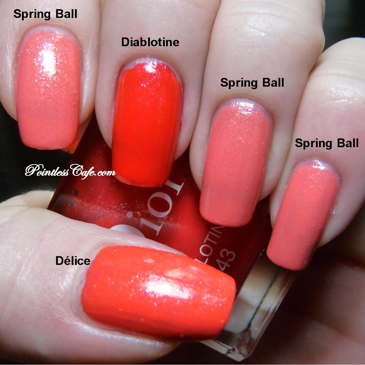 Dior Spring Ball vs Dior Délice vs Dior Diablotine