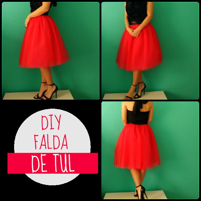 DIY: falda de tul