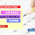 Download UKSSSC Sahayak Lekhakar Previous year Paper