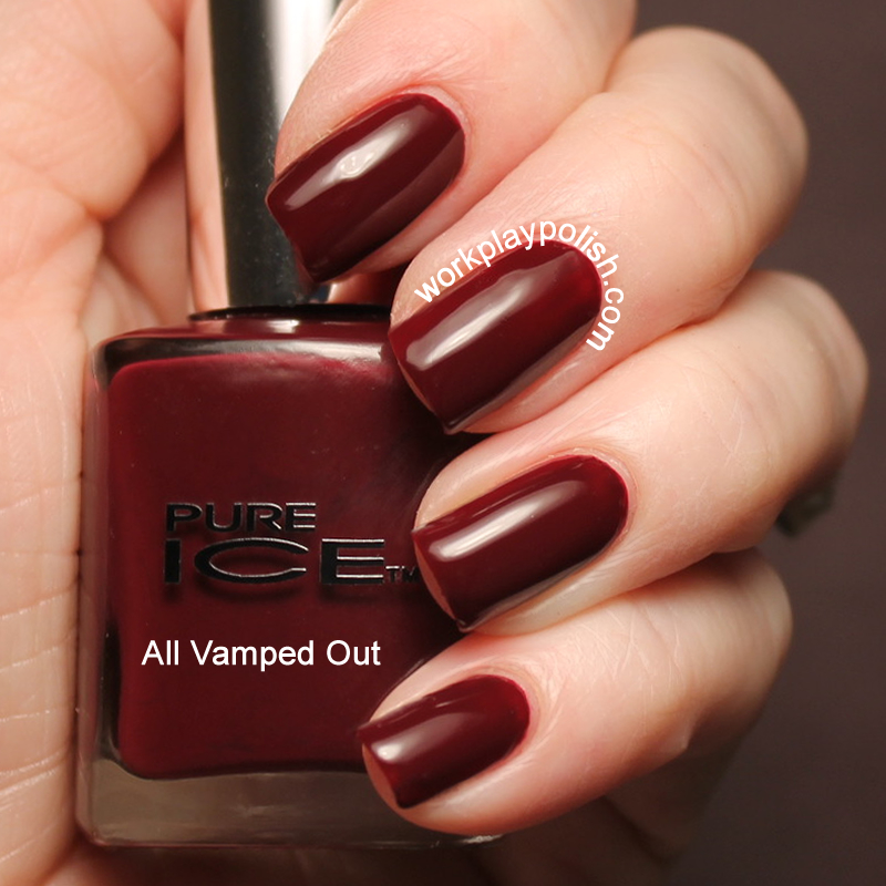 Pure Ice All Vamped Out Swatch (work / play / polish)