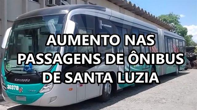 Passagem de Ônibus ficará mais cara a Partir do Dia 1º