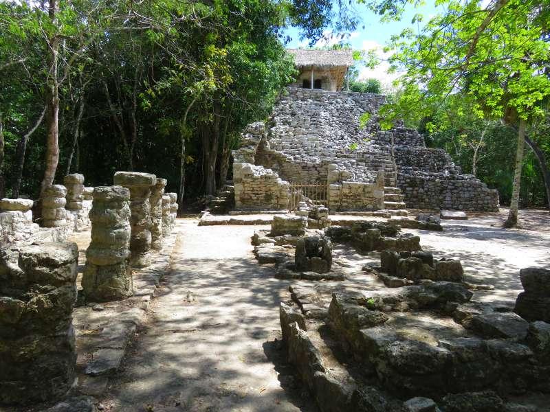Mayan ruins Coba