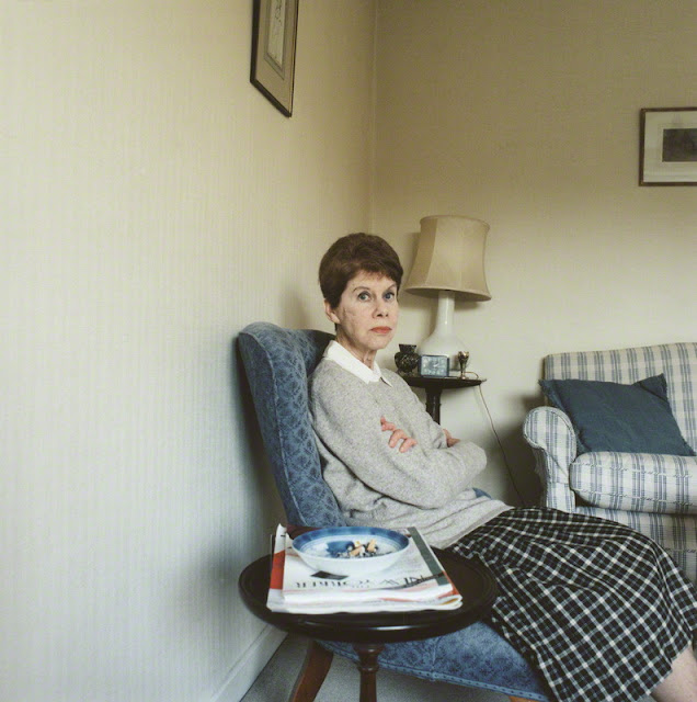 Portrait of Anita Brookner for NPG, 2001
