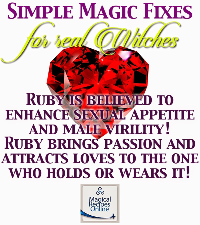 Ruby and its magical Properties  The King of Gems - Magical