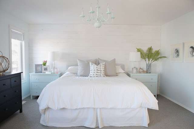 Beach House In The City Master Bedroom Makeover New House