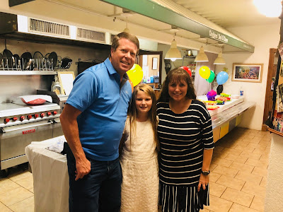 Jennifer Duggar with Jim Bob and Michelle Duggar