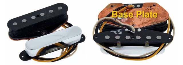 Pastillas Telecaster Baseplate