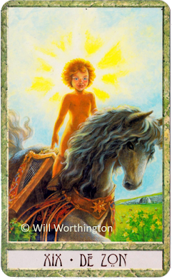 Druidcraft Tarot The Sun