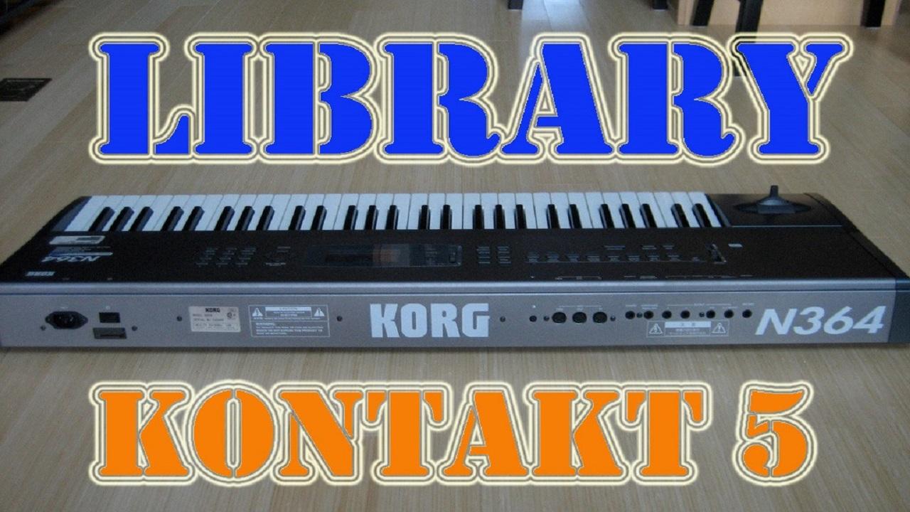 KORG N364 - KONTAKT 5 ~ Samples Kontakt 5, Tutoriales y Más